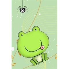 Cute Frog Notebook By Kim Blair   5 5  X 8 5  Notebook   Sdxmc3v4myrw   Www Artscow Com Front Cover