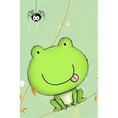 Cute Frog Notebook By Kim Blair   5 5  X 8 5  Notebook   Sdxmc3v4myrw   Www Artscow Com Back Cover