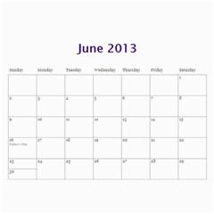 Touhou Calendar By George   Wall Calendar 11  X 8 5  (12 Months)   0jsc1d55gvdh   Www Artscow Com Jun 2013