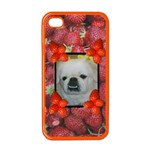 Strawberry Apple iphone 4 case (color)