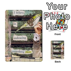 Created Collection By Bethany   Multi Purpose Cards (rectangle)   Qjppv4d0ek5m   Www Artscow Com Front 24