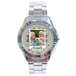 family - Stainless Steel Analogue Watch