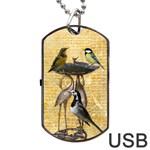 Bird bath USB flash dog tag - Dog Tag USB Flash (One Side)
