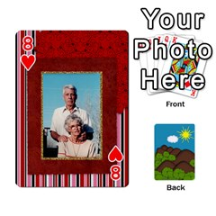 Family Cards By Cassie White   Playing Cards 54 Designs   Qaniqurzjlvh   Www Artscow Com Front - Heart8