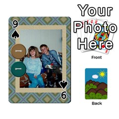 Family Cards By Cassie White   Playing Cards 54 Designs   Qaniqurzjlvh   Www Artscow Com Front - Spade9