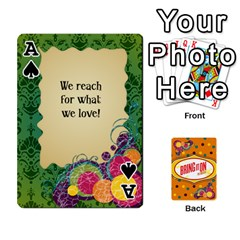 Ace Bio Playing Cards 54 Final By Pat Kirby   Playing Cards 54 Designs   N6o9uectlw0x   Www Artscow Com Front - SpadeA