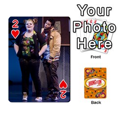 Bio Playing Cards 54 Final By Pat Kirby   Playing Cards 54 Designs   N6o9uectlw0x   Www Artscow Com Front - Heart2