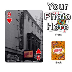 Bio Playing Cards 54 Final By Pat Kirby   Playing Cards 54 Designs   N6o9uectlw0x   Www Artscow Com Front - Heart9