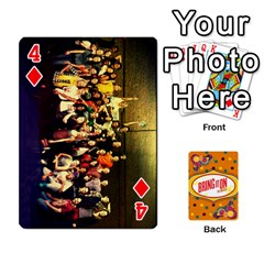 Bio Playing Cards 54 Final By Pat Kirby   Playing Cards 54 Designs   N6o9uectlw0x   Www Artscow Com Front - Diamond4