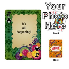 Jack Bio Playing Cards 54 Final By Pat Kirby   Playing Cards 54 Designs   N6o9uectlw0x   Www Artscow Com Front - SpadeJ
