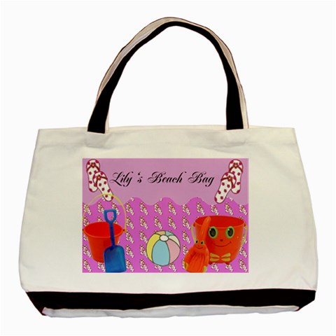 Beach Bag By Kimmy   Basic Tote Bag   Wqh5678ctoxb   Www Artscow Com Front