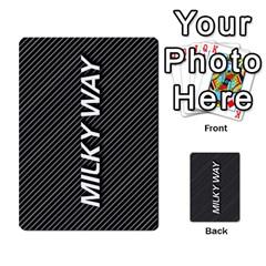 Milky Way By Catherine Pfeifer   Multi Purpose Cards (rectangle)   Ethtqfabj5po   Www Artscow Com Back 35