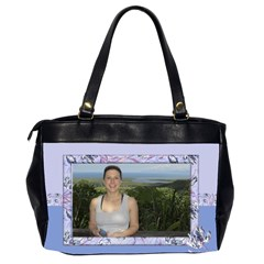 Iris 2 Office Bag (2 Sided) By Deborah   Oversize Office Handbag (2 Sides)   96noz9i2b6xy   Www Artscow Com Back