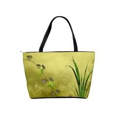 French Garden Vol 1   Classic Shoulder Handbag  By Picklestar Scraps   Classic Shoulder Handbag   Vik86y8r2muq   Www Artscow Com Back