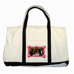 heartframe tote bag - Two Tone Tote Bag