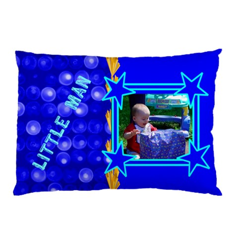 Little Man Pillow Case By Kim Blair   Pillow Case   Nzwd1r1c8oeh   Www Artscow Com 26.62 x18.9 Pillow Case