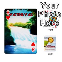 Mallorca By Gaby   Playing Cards 54 Designs   8it8vd8n8ozn   Www Artscow Com Front - Heart8