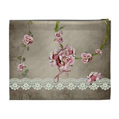 French Garden Vol1   Cosmetic Bag (xl)  By Picklestar Scraps   Cosmetic Bag (xl)   61qlu0lpe5h9   Www Artscow Com Back