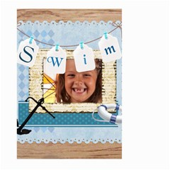 Swim By Joely   Large Garden Flag (two Sides)   57x8qwwdh4vg   Www Artscow Com Front