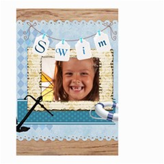 Swim By Joely   Small Garden Flag (two Sides)   Nfumzxbsgn78   Www Artscow Com Back