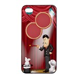 The Big Top Apple iPhone 4/4s - Apple iPhone 4/4s Seamless Case (Black)