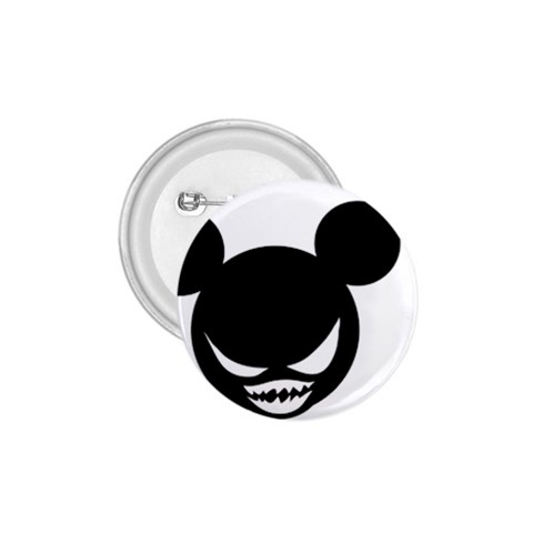 Evil Mickey By Joyce   1 75  Button   Zmeuw46amomy   Www Artscow Com Front