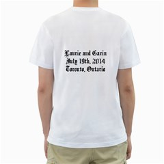 Team Groom Stag And Doe Shirt By Patricia W   Men s T Shirt (white) (two Sided)   Kis9vaiuijyb   Www Artscow Com Back