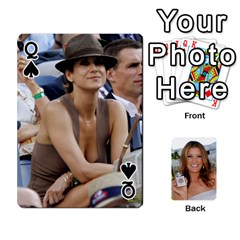 Queen Kate Playing Cards By Karen   Playing Cards 54 Designs   C9joovjddwhq   Www Artscow Com Front - SpadeQ