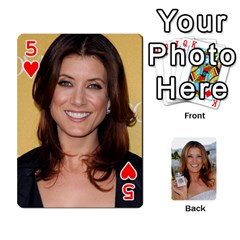 Kate Playing Cards By Karen   Playing Cards 54 Designs   C9joovjddwhq   Www Artscow Com Front - Heart5