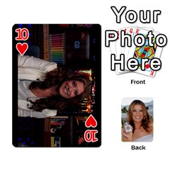 Kate Playing Cards By Karen   Playing Cards 54 Designs   C9joovjddwhq   Www Artscow Com Front - Heart10