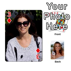 Kate Playing Cards By Karen   Playing Cards 54 Designs   C9joovjddwhq   Www Artscow Com Front - Diamond3