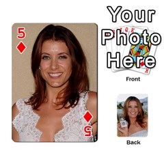 Kate Playing Cards By Karen   Playing Cards 54 Designs   C9joovjddwhq   Www Artscow Com Front - Diamond5