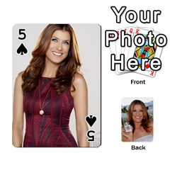 Kate Playing Cards By Karen   Playing Cards 54 Designs   C9joovjddwhq   Www Artscow Com Front - Spade5