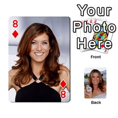 Kate Playing Cards By Karen   Playing Cards 54 Designs   C9joovjddwhq   Www Artscow Com Front - Diamond8
