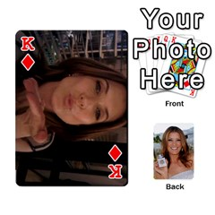 King Kate Playing Cards By Karen   Playing Cards 54 Designs   C9joovjddwhq   Www Artscow Com Front - DiamondK