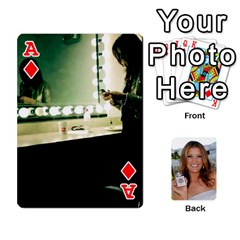 Ace Kate Playing Cards By Karen   Playing Cards 54 Designs   C9joovjddwhq   Www Artscow Com Front - DiamondA