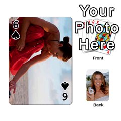 Kate Playing Cards By Karen   Playing Cards 54 Designs   C9joovjddwhq   Www Artscow Com Front - Spade6