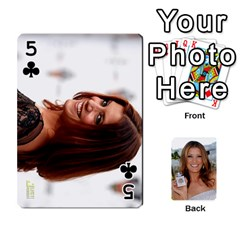 Kate Playing Cards By Karen   Playing Cards 54 Designs   C9joovjddwhq   Www Artscow Com Front - Club5