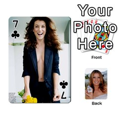 Kate Playing Cards By Karen   Playing Cards 54 Designs   C9joovjddwhq   Www Artscow Com Front - Club7