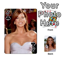 Jack Kate Playing Cards By Karen   Playing Cards 54 Designs   C9joovjddwhq   Www Artscow Com Front - ClubJ