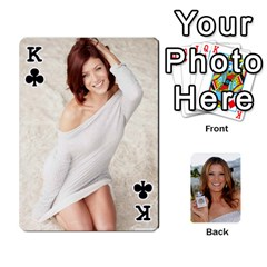 King Kate Playing Cards By Karen   Playing Cards 54 Designs   C9joovjddwhq   Www Artscow Com Front - ClubK