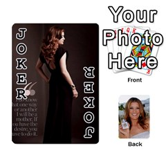 Kate Playing Cards By Karen   Playing Cards 54 Designs   C9joovjddwhq   Www Artscow Com Front - Joker1