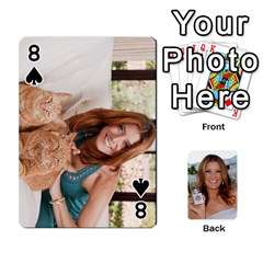 Kate Playing Cards By Karen   Playing Cards 54 Designs   C9joovjddwhq   Www Artscow Com Front - Spade8