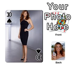 Kate Playing Cards By Karen   Playing Cards 54 Designs   C9joovjddwhq   Www Artscow Com Front - Spade10