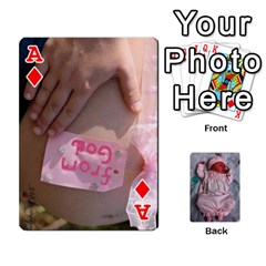 Ace Ava By Amy   Playing Cards 54 Designs   Ph98qa6j77da   Www Artscow Com Front - DiamondA