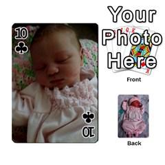 Ava By Amy   Playing Cards 54 Designs   Ph98qa6j77da   Www Artscow Com Front - Club10