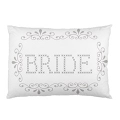 Bride Pillow Case By Kim Blair   Pillow Case (two Sides)   4io1uyvealjt   Www Artscow Com Back