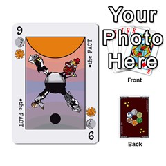 The Decktet   Red Back By John   Playing Cards 54 Designs   Oita1lgwpzp4   Www Artscow Com Front - Heart6