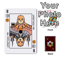 The Decktet   Red Back By John   Playing Cards 54 Designs   Oita1lgwpzp4   Www Artscow Com Front - Heart9