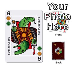 The Decktet   Red Back By John   Playing Cards 54 Designs   Oita1lgwpzp4   Www Artscow Com Front - Diamond3